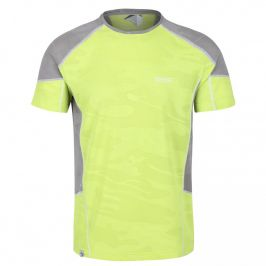 Pánské funkční triko Regatta Camito Velikost: XL / Barva: žlutá