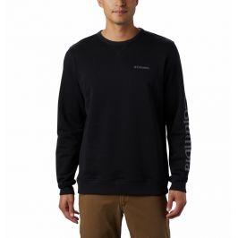 Pánská mikina Columbia Logo Fleece Crew Velikost: L / Barva: černá