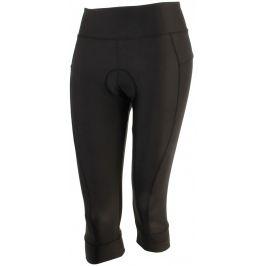 Cyklistické 3/4 kraťasy Axon Laura Velikost: S / Barva: černá