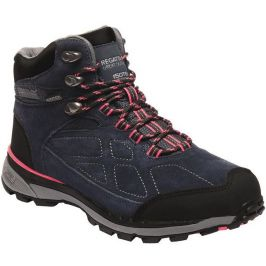 Dámské boty Regatta Ldy Samaris Suede Velikost bot (EU): 38 / Barva: modrá/růžová