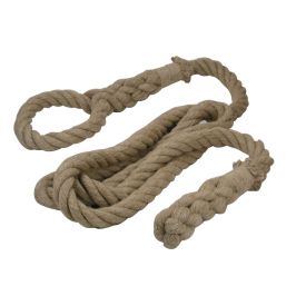 Hamaka.eu Přírodní lano Hakama Lano šplh 5 m