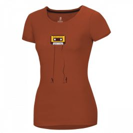 Dámské triko Ocún Classic T Women Velikost: S / Barva: hnědá
