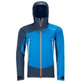 Pánská bunda Ortovox Westalpen Softshell Jacket M Velikost: L / Barva: modrá