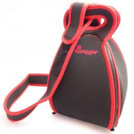 Termoizolační taška Baggie Set s popruhem Barva: černá/červená