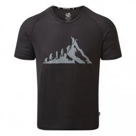 Pánské triko Dare 2b Righteous II Tee Velikost: XL / Barva: černá