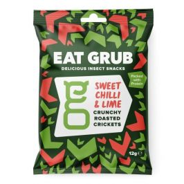 Pražení cvrčci Eat Grub Sweet Chilli & Lime