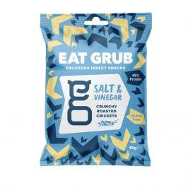 Pražení cvrčci Eat Grub Salt and Vinegar