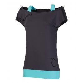 Dámské triko Progress TR Taiko 23OK Velikost: XL / Barva: šedá/modrá
