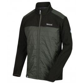 Pánská bunda Regatta Colbeck Velikost: M / Barva: černá/šedá
