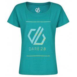 Dámské triko Dare 2b Glow Up Tee Velikost: XS / Barva: modrá