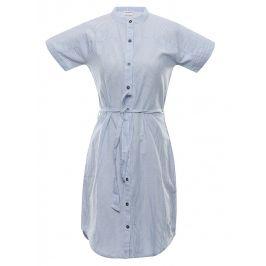 Šaty Alpine Pro Liba Velikost: XS / Barva: modrá/bíla