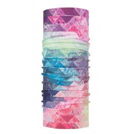 Dětský multifunkční šátek Buff Original Barva: růžová/modrá