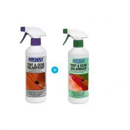 Set Impregnace a čističe Nikwax Tent & Gear 500 ml