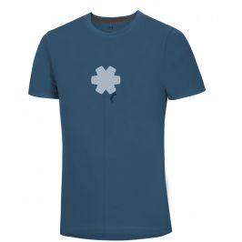 Pánské triko Ocún Classic T Men BClimbBlue Velikost: M / Barva: modrá