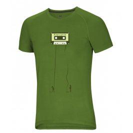 Pánské triko Ocún Raglan T Velikost: M / Barva: zelená