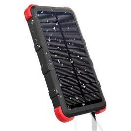 Solární powerbanka Outxe Savage IP67 - 10000mAh Barva: černá