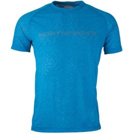 Pánské triko Northfinder Raswan Velikost: M / Barva: modrá