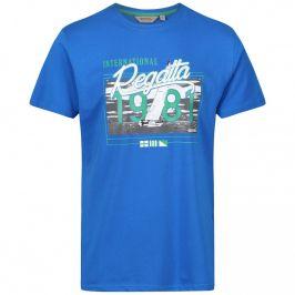 Pánské triko Regatta Cline III kr. rukáv Velikost: M / Barva: světle modrá