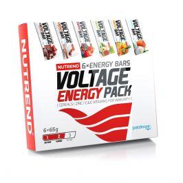 Dárkové balení Nutrend Voltage Energy Bar 6 pack