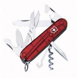 Nůž Victorinox Climber Barva: červená transparentní
