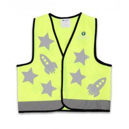 Dětská reflexní vesta LittleLife Hi-Vis Safety Vest Barva: žlutá / Vel.:M