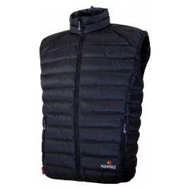 Pánská vesta Warmpeace Drake Velikost: S / Barva: černá