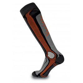 Podkolenky Sherpax Dunagiri P Velikost ponožek: 35-38 / Barva: šedá