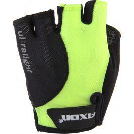 Cyklorukavice Axon 190 Velikost: XS / Barva: žlutá