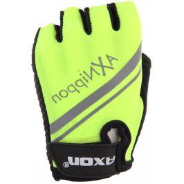 Dětské Cyklorukavice Axon 204 Velikost dětských rukavic: 3XS / Barva: žlutá