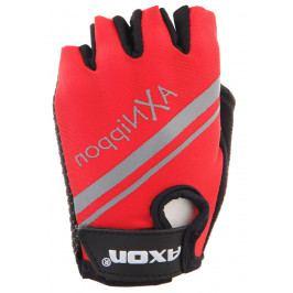 Dětské Cyklorukavice Axon 204 Velikost dětských rukavic: 4XS / Barva: červená