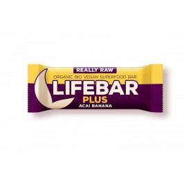 Tyčinka Lifefood Plus Acai Banánová RAW BIO 47 g