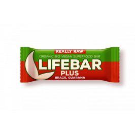 Lifefood Tyčinka Lifebar Plus brazilská s guaranou BIO RAW 47 g
