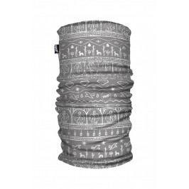 Šátek H.A.D. Printed Fleece Tube Babylon Grey