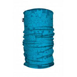 Dětský šátek H.A.D. Kids Printed Fleece Tube Pets Blue