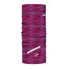 Multifunkční šátek H.A.D. Go! Store Melange Pink