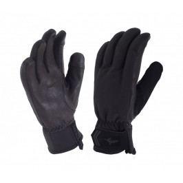 Dámské rukavice SealSkinz Women's All Season Glove Velikost: S (6) / Barva: černá