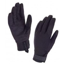 Dámské rukavice SealSkinz Womens Dragon Eye Velikost rukavic: XL / Barva: černá