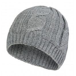 Čepice SealSkinz Cable Knit Hat Obvod hlavy: 62-63 cm (XXL) / Barva: šedá
