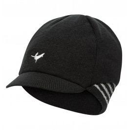 Čepice SealSkinz Belgian Style Cycling Cap Obvod hlavy: 55-57 cm / Barva: černá