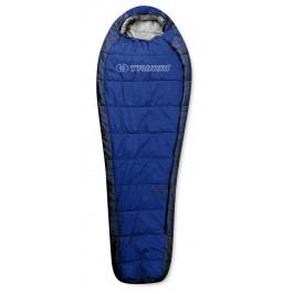 Spacák Trimm Highlander 185 cm Zip: Levý / Barva: modrá