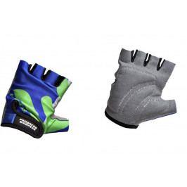 Dětské cyklistické rukavice Progress Kids Mitts 26RX Velikost rukavic: XS / Barva: modrá/zelená