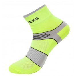 Ponožky Progress CYC 8CE Cycling Velikost ponožek: 43-47 (9-12) / Barva: žlutá