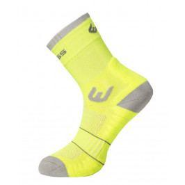 Ponožky Progress WLK 8HD Walking Velikost ponožek: 43-47 (9-12) / Barva: žlutá