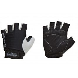 Cyklistické rukavice Progress Simple Mitts 37AA Velikost: XS / Barva: černá/šedá