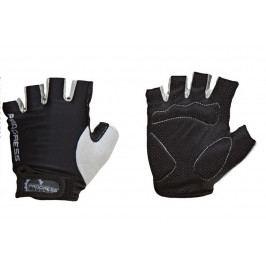 Cyklistické rukavice Progress Simple Mitts 37AA Velikost: S / Barva: černá/šedá