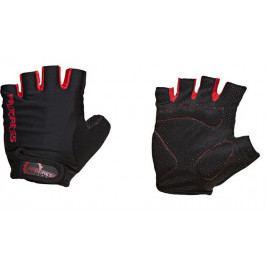 Cyklistické rukavice Progress Simple Mitts 37AA Velikost: M / Barva: šedá/červená