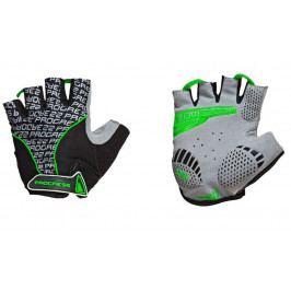 Cyklistické rukavice Progress Pull Mitts 37CA Velikost: XS / Barva: černá/zelená
