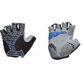 Cyklistické rukavice Progress Pull Mitts 37CA Velikost: S / Barva: černá/modrá