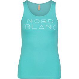 Dámské tílko Nordblanc Affable Velikost: L (40) / Barva: modrá