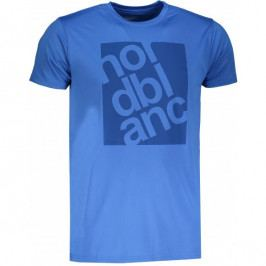 Pánské triko Nordblanc Pert Velikost: M / Barva: modrá